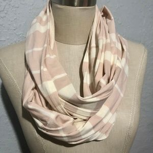Lululemon lightweight Vinyasa Scarf, tan and beige
